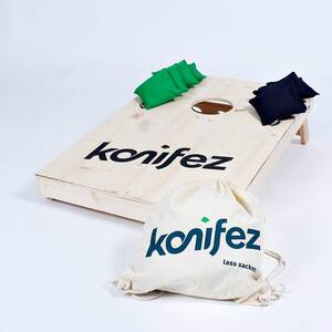 Fairtrade-Cornhole-Komplettpaket KLASSIK - konifez®
