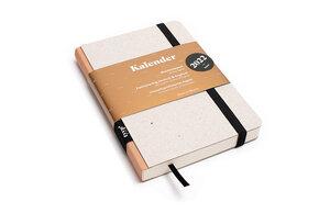 Kalender 2022 - Klassik, DIN A6, Grau, Handmade - tyyp