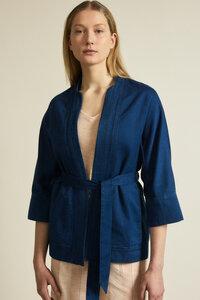 Kimono aus Bio-Baumwolle mit Hanf - LANIUS