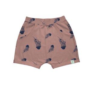 Shorts - SEVILLA aus 100% Biobaumwolle mit Quallenprint - moyo collective