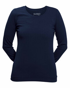 Dunque Damen Shirt Langarm Bio Baumwolle mit Elasthan - Dunque by Schweikardt Moden