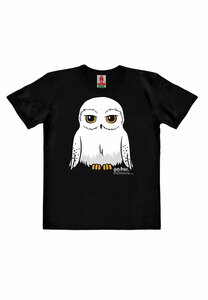 LOGOSHIRT - Harry Potter - Eule - Hedwig - Organic - Bio T-Shirt Print - Kinder Unisex - LOGOSH!RT
