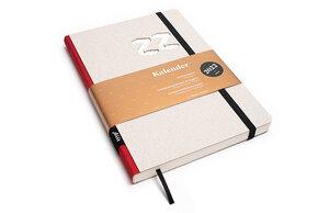 Kalender 2022 - Klassik, DIN A5, Grau, Handmade - tyyp