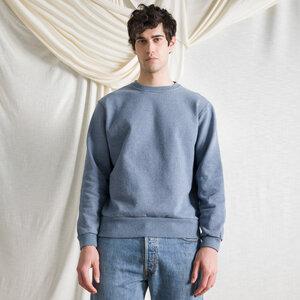 Herren Sweatshirt Recycelter Denim-Baumwolle Cassius - Rifò - Circular Fashion