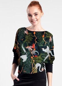 Langarmshirt - Swanja aus Bio Baumwolle - LASALINA