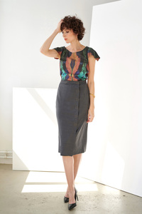 Wrap Skirt Wickelrock - Yuna Miray