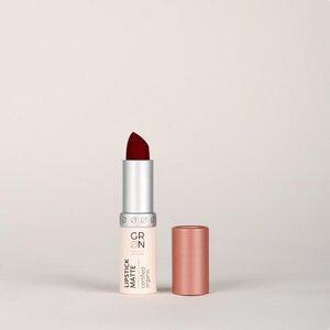 Biokosmetik Lipstick Matte - gute Haftung - talkfrei - GRN [GRÜN]