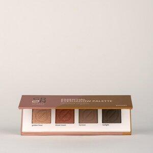 Biokosmetik Essential Eyeshadow Palette sunset - vegan - talkfrei - GRN [GRÜN]