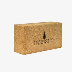 treeletic bYo Base Yogablock Kork / handgefertigt - treeletic®