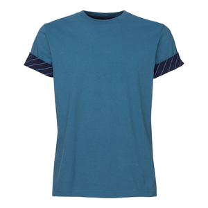 ThokkThokk Rolled Sleeves T-Shirt Denim - THOKKTHOKK