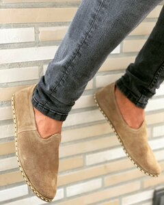 Benim Mens Slip On I Suede Desert - Benim Shoes