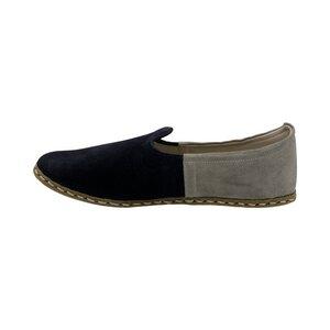 Benim Mens Slip On I Suede Ocean Sand - Benim Shoes