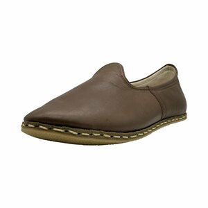 Benim Mens Slip On I Chestnut - Benim Shoes