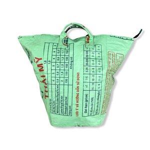 Multifunktionaler Wäschesack Ri7 recycelter Reissack - Beadbags