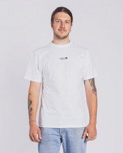 Herren T-Shirt aus Bio-Baumwolle - Logo - weiß - Degree Clothing