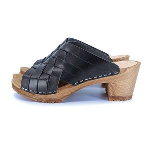 SOMMAR - schwedische Holz Clogs von me&myclogs - high mid heel - me&myClogs