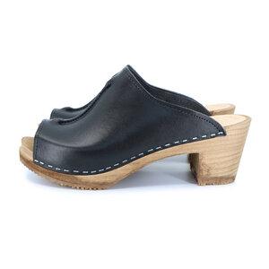 SIGNE - schwedischer Holz Clogs von me&myclogs - high mid heel - me&myClogs