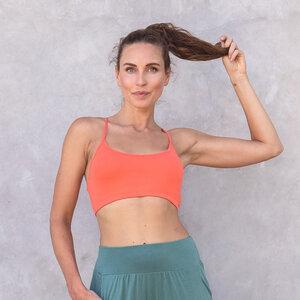 BEYONCE UNI - Damen - Bra für Yoga aus Biobaumwolle - Jaya