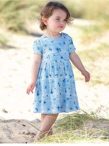 Baby und Kleinkinder Kleid Stripy Ditsy Bio-Baumwolle - Kite Clothing