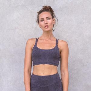 LOONA SNAKE - Damen - Bra für Yoga aus Biobaumwolle - Jaya