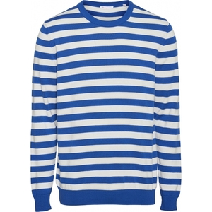 Strickpullover - FORREST o-neck striped knit - KnowledgeCotton Apparel