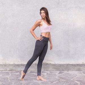 ALIKI DOTS - Damen - Jacquard-Jersey Leggings aus Biobaumwolle - Jaya
