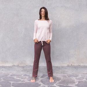 JULIA - Damen - Sweater für Yoga und Freizeit aus Biobaumwolle - Jaya