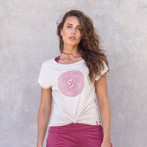 OM - Damen - loose cut T-Shirt aus 100% Biobaumwolle - Jaya