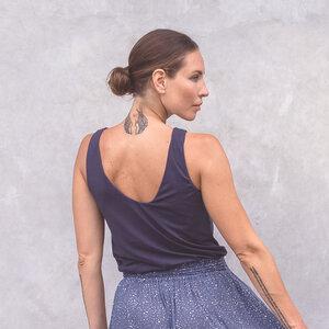 APRIL - Damen - Top für Yoga und Freizeit aus Tencel-Bio-Baumwoll-Mix - Jaya