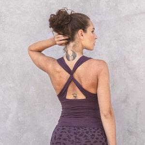 CINDY - Damen - Top für Yoga aus Biobaumwolle - Jaya