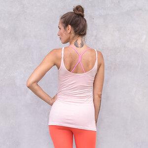 EVE - Damen - Longtop für Yoga und Freizeit aus Biobaumwolle - Jaya