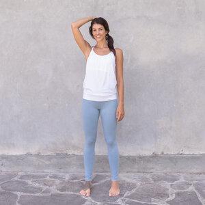 MICHELLE - Damen - lockeres Top für Yoga aus Biobaumwolle - Jaya