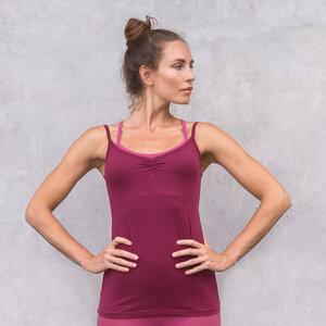 SOFIA 2 FARBIG - Damen - Top für Yoga und Freizeit aus Biobaumwolle - Jaya