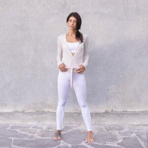 YAEL - Damen - Wickeljacke für Yoga und Freizeit aus Biobaumwolle - Jaya