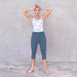FLORA - Damen - 3/4 Hose für Yoga und Freizeit aus Biobaumwolle - Jaya