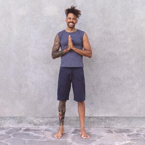 MIGUEL - Männer - Shorts für Yoga und Freizeit aus Biobaumwolle - Jaya