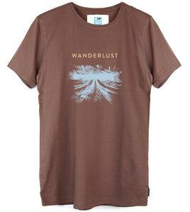 Shirt Wanderlust aus Modal®-Mix/Bio-Baumwolle - Gary Mash