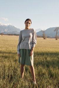 'Pikchu' Feinstrick Alpaka Pullover - ACHIY