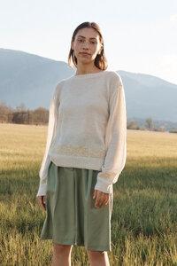 'Kay Pacha' Feinstrick Alpaka Pullover - ACHIY