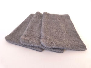 Clarysse Waschhandschuh 3er-Set, Bunt oder Grau - Clarysse