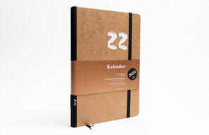 Kalender 2022 - Klassik, DIN A5, Craft (Naturbraun), Handmade - tyyp