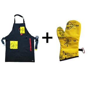 Benefit Bundle mit Grillschürze & Grillhandschuh - Bag to Life