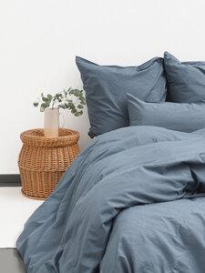 madita - bettdeckenbezug aus 80% baumwolle (kbA) und 20% leinen - erlich textil