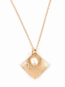 Halskette Golden Pearl - El Puente