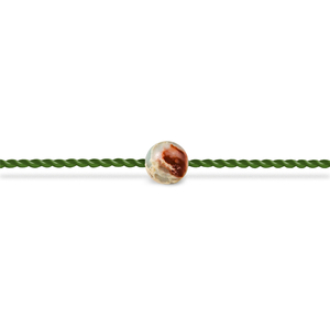 Wachsendes Wunschband - Schlangenhaut Jaspis - Seelenband