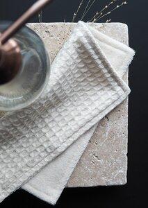 2 Spül- und Reinigungslappen aus Waffelpique & Frottee - treu