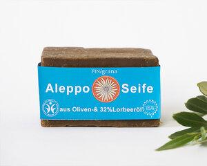 Alepposeife mit 32% Lorbeeröl 165g - Finigrana