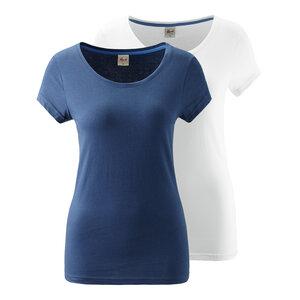 2er Pack Yoga Shirt blau und weiß - People Wear Organic