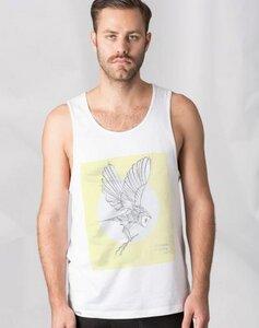 Flying Owl Singlet - GLIMPSE Clothing