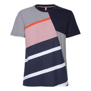 ThokkThokk Planks T-Shirt Man Midnight - THOKKTHOKK